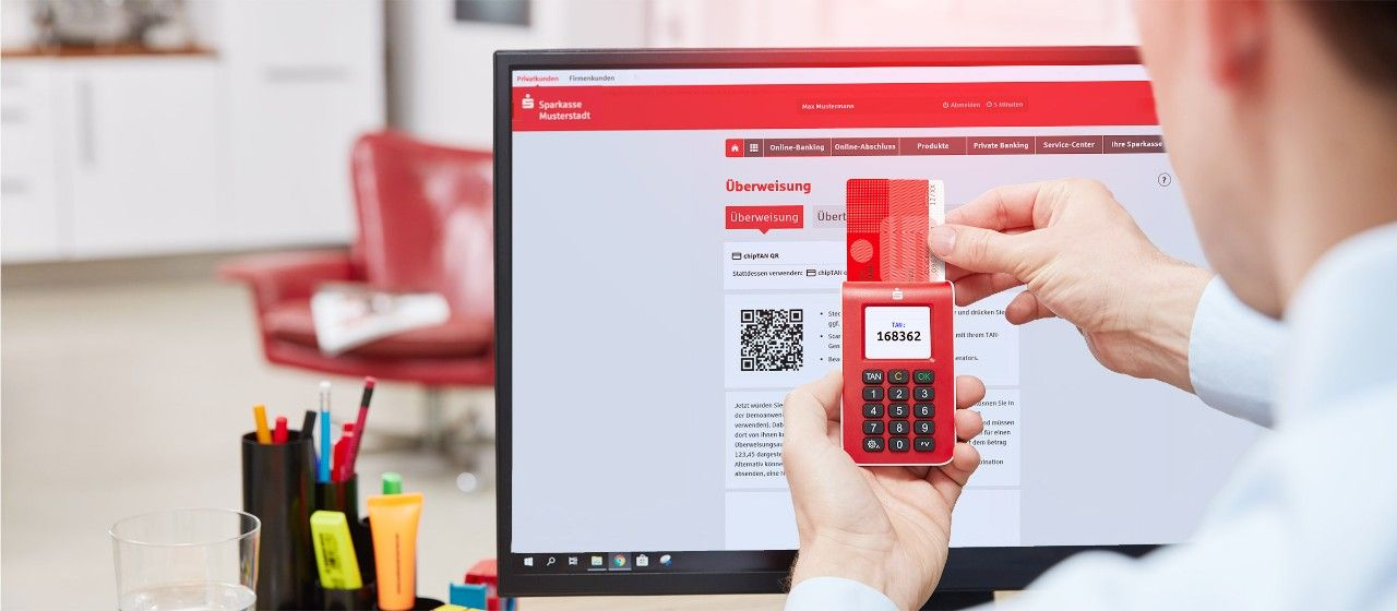 Online-Banking mit chipTAN  Sparkasse Holstein
